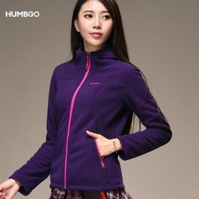 Humbgo Women's Fleece jacket hooded north fox edition