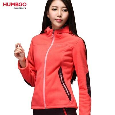 Humbgo Women's Fleece jacket collared north fox edition