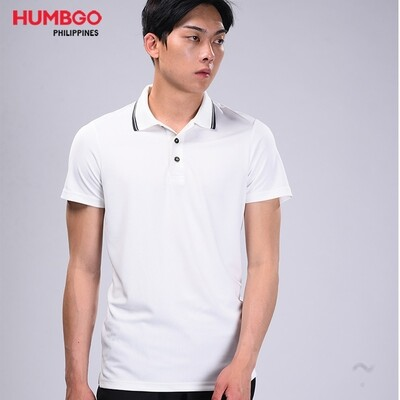 Humbgo Men's stain resistant, breathable polo shirt