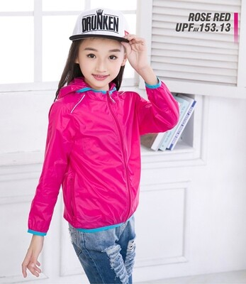 Humbgo childrens Anti-UV ultra thin sun jacket