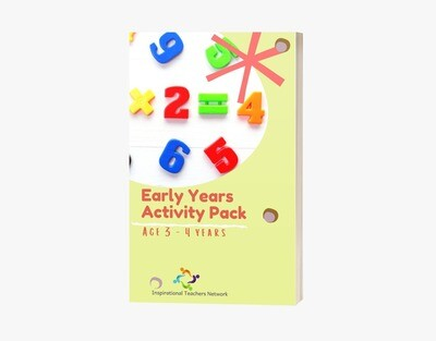 Early Years Weekly Learning Pack (3-4 years)