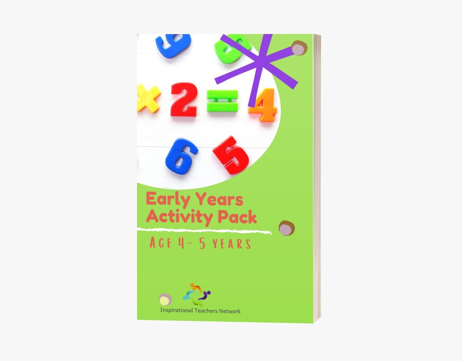 Early Years Weekly Learning Pack (4-5years)