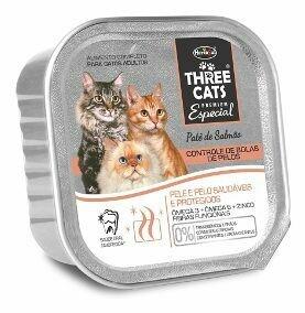 Three Cats Alimento Húmedo