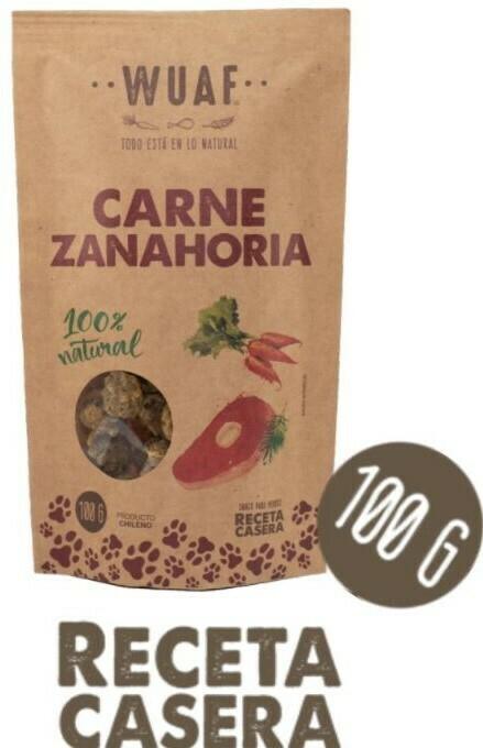 Snack Perro Carne Zanahoria