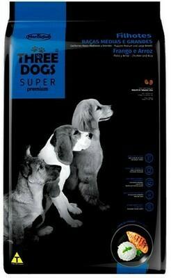 Cachorros Razas Medianas y Grandes – Pollo y Arroz 15 Kg.  Oferta de Lanzamiento