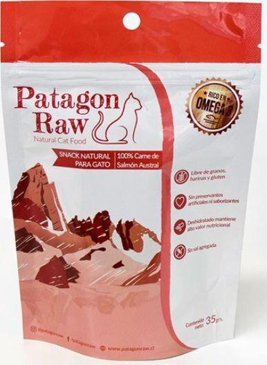 Patagon Raw Snack para Gato - Salmon  35 Gr.