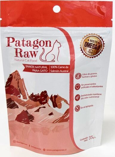 Patagonia Raw Salmon Gato 35 Gr.