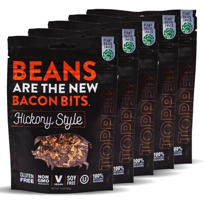 Beans Are The New Bacon Bits - Hickory Style - 5 Pack