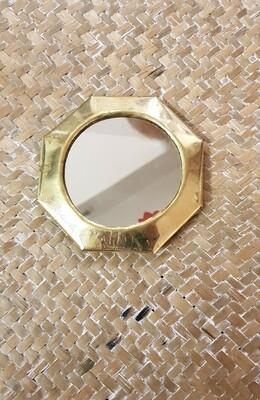 Petit miroir octogonal