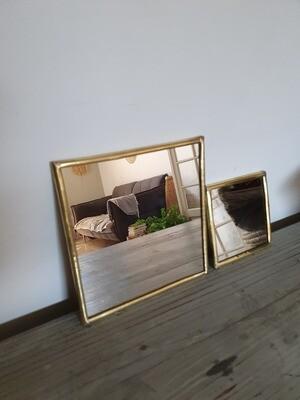 Miroir fait main carré 2 formats