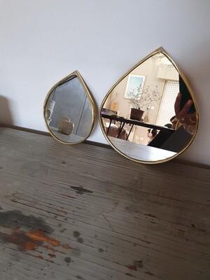 Miroir goutte 2 formats