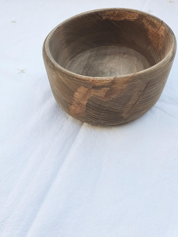 Bol en bois d'olivier