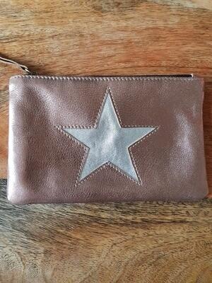 Pochette  Star cuir