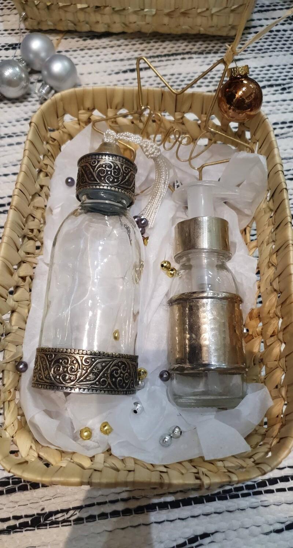 Box bouteille et distributeur savon