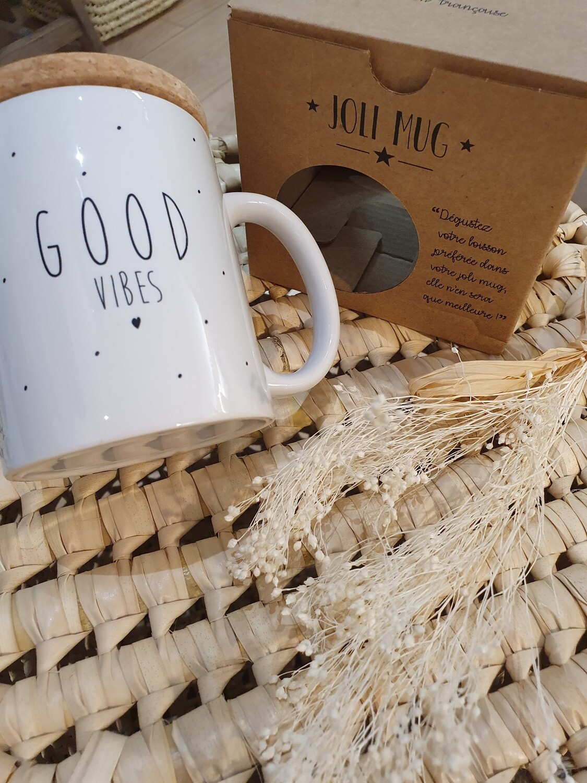 """Mug """"Good Vibes, Good life"""""""