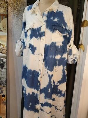 Robe Tie & Die bleu jean