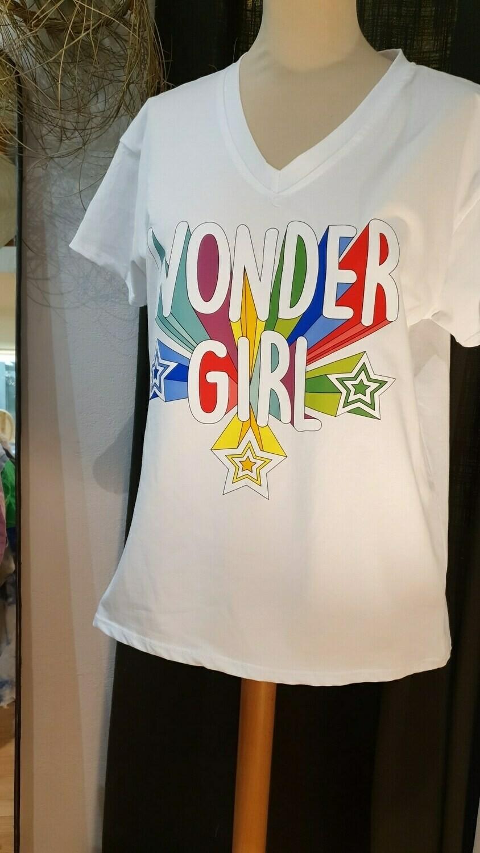 "Tee shirt  ""Wonder Girl"""