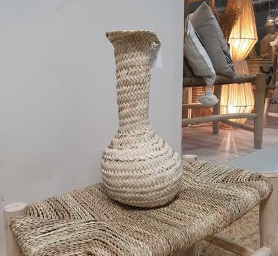 Vase en feuille de palmes