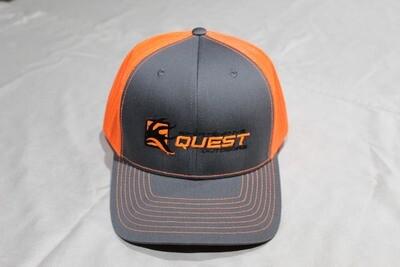 Sportsman's Quest Logo Mesh Snapback Hat