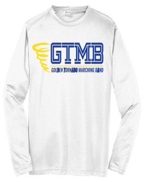 GTMB- Long Sleeve Moisture Wicking Shirt- Y LARGE