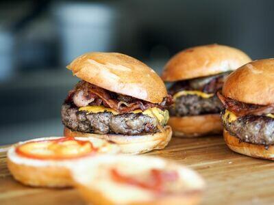 Homemade Beef Burgers (4)