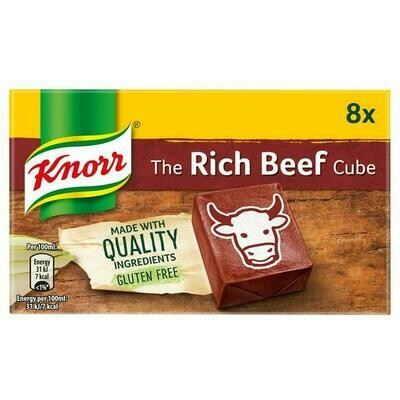 Knorr Stock Cubes: Rich Beef (8)