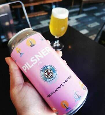 PILSNER CHARITY CANS