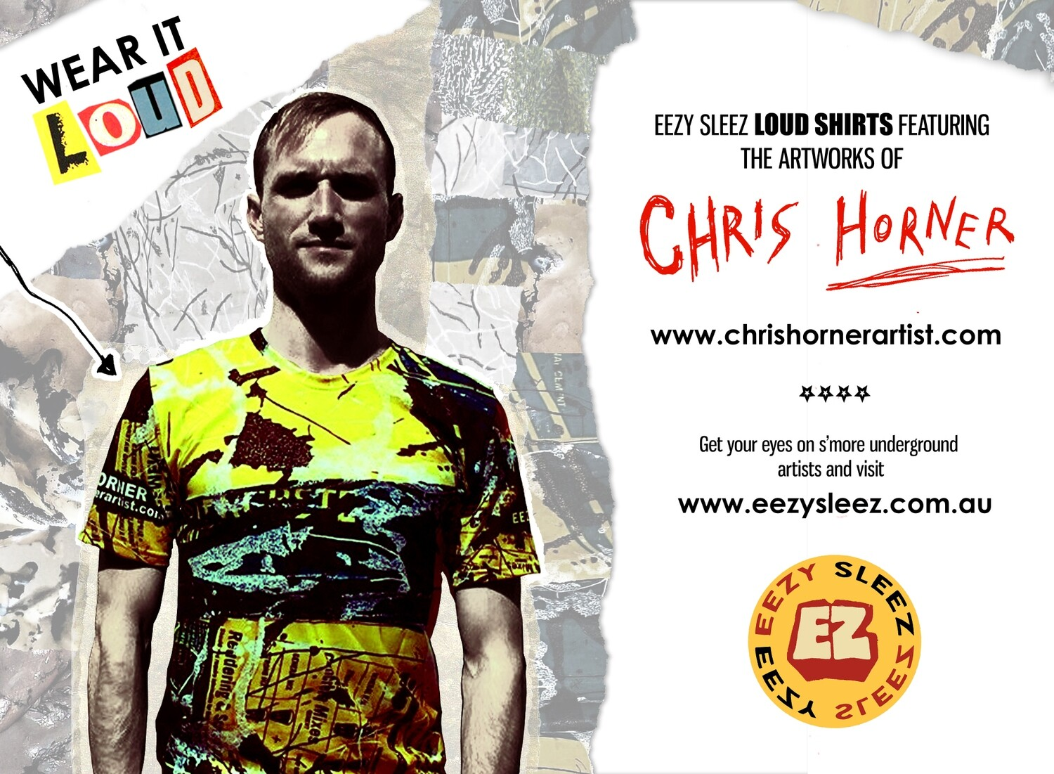 Chris Horner 'Cemented At Last' (LOUD T-Shirt)