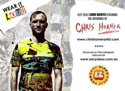 Chris Horner 'Cemented At Last' (LOUD T-Shirt)