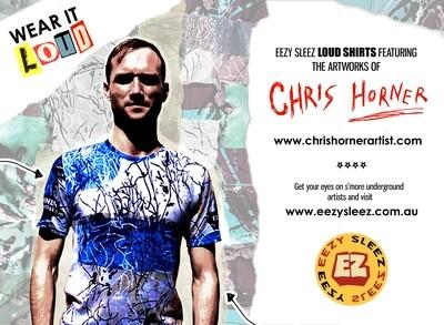 Chris Horner 'Aggregated Through Time' (LOUD T-Shirt)