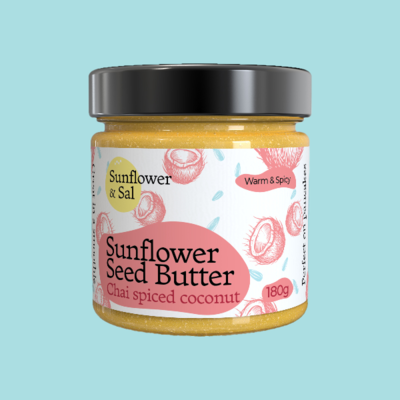 Chai Spiced Coconut & Sunflower Seed Butter