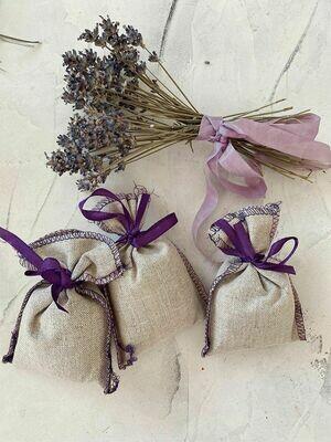 Sachet with lavender 3 pieces