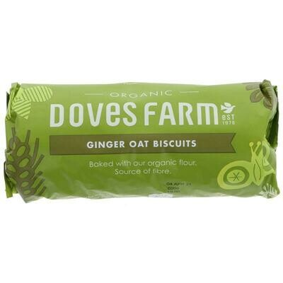 Doves Ginger Oat Biscuits