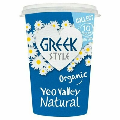 Yeo Valley Greek Style Natural Yogurt