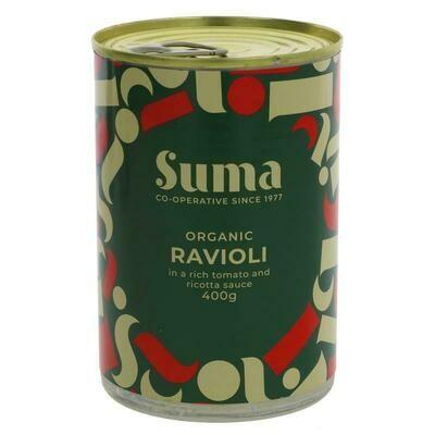 Ravioli In Tomato And Ricotta Sauce