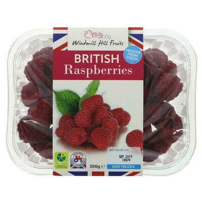 British Frozen Raspberries