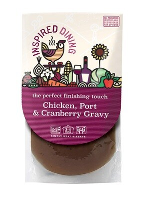 Inspired Dining Chicken, Port & Cranberry Gravy (200g)