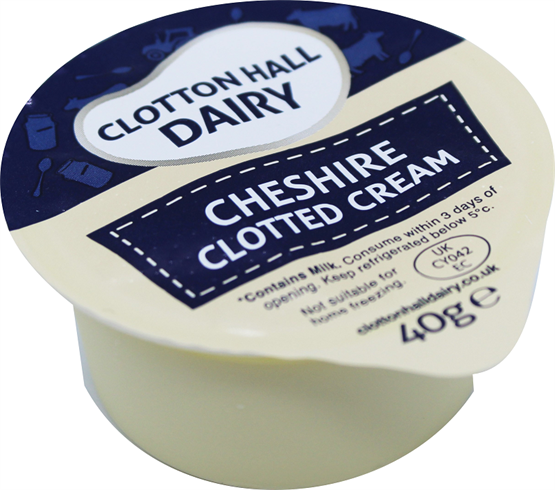 Clotton Hall Clotted Cream Portion