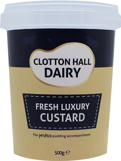 Clotton Hall Luxury Custard
