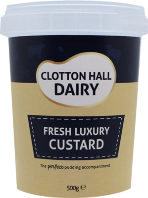 Clotton Hall Luxury Custard