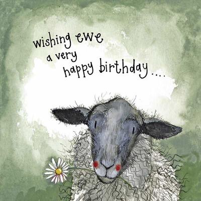 Alex Clark Starlight Sheep & Daisies