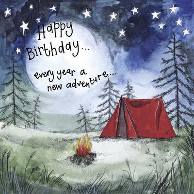 Alex Clark Starlight Red Tent