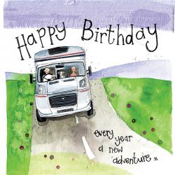 Alex Clark Happy Birthday Motorhome