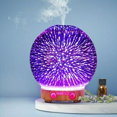 Devanti Aromatherapy Diffuser 3D Firework Light Oil