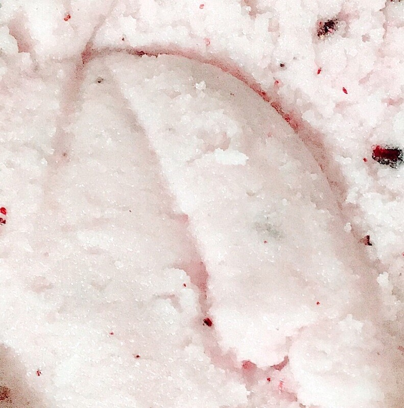 Coconut & Pomegranate Face Scrub