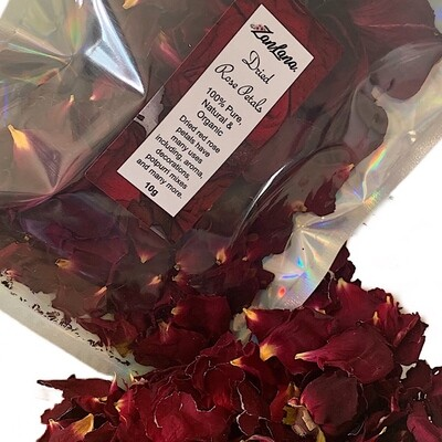 Organic Rose Petals 10g