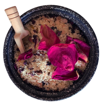 Romantic Rose Luxury Scented Bath Salts