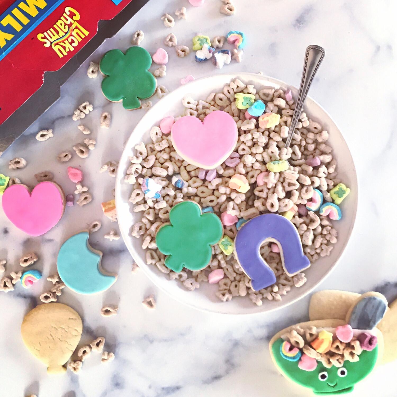 Lucky Charm Cookies