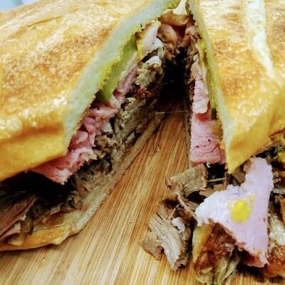 The Fat Cuban Sandwich from Miami