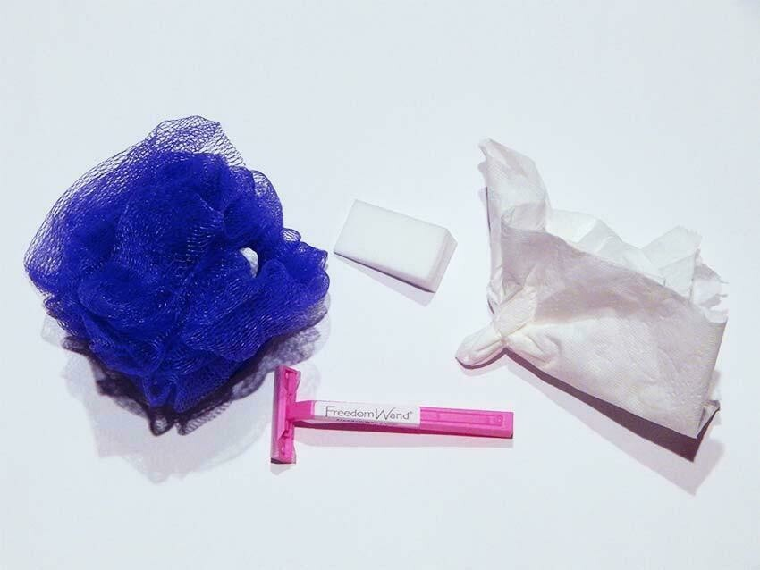 Pre-Made Toilet Tissue Tool Kit